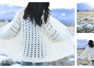 Easy Oversized Cardigan FREE Crochet Pattern