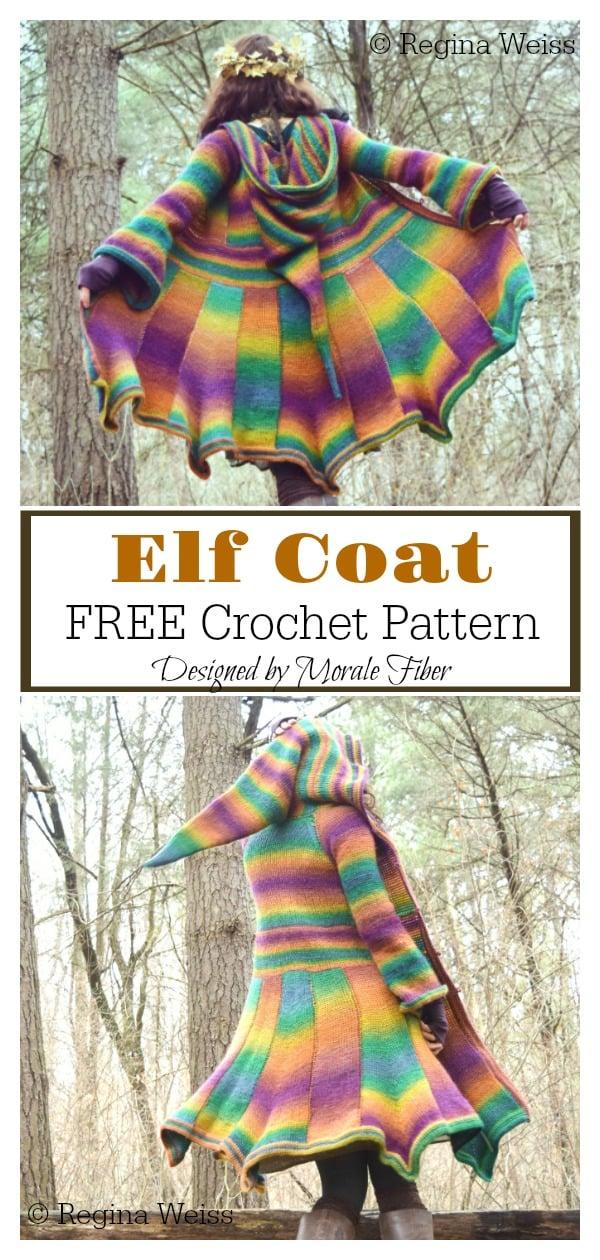 Elf Coat FREE Crochet Pattern