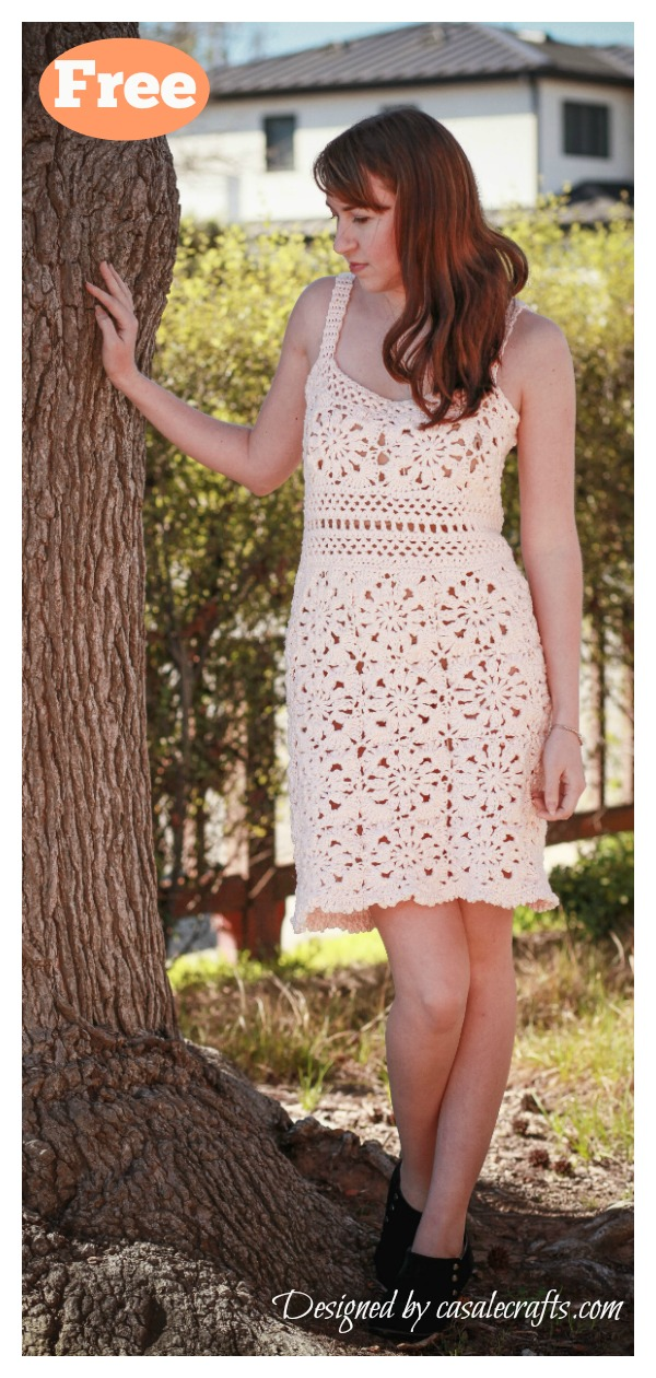 Fleur Dress Free Crochet Pattern