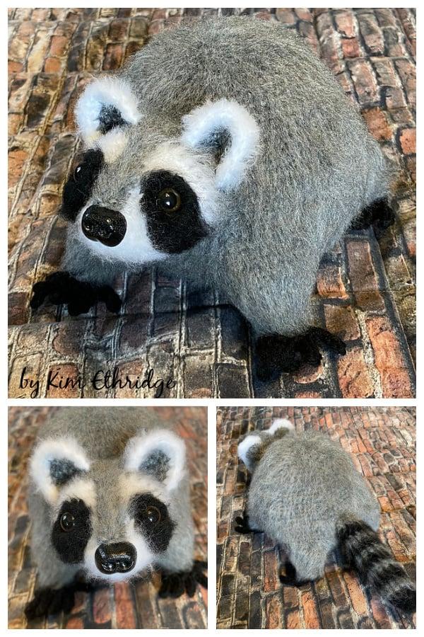 Happy Raccoon Free Crochet Pattern