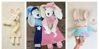 Rabbit Ragdoll Toy Free Crochet Pattern