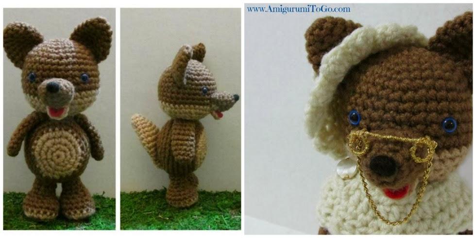 Bad Wolf Amigurumi Free Crochet Pattern