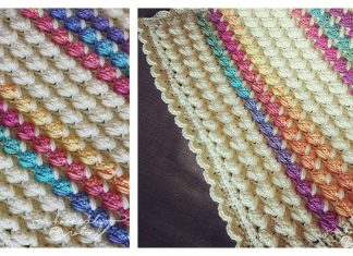 Bubble Puff Blanket Free Crochet Pattern and Video Tutorial