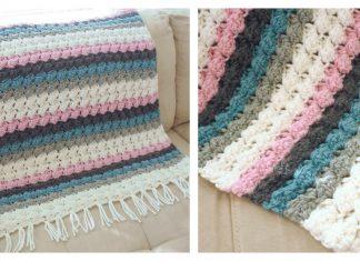 Bumps Baby Blanket Free Crochet Pattern