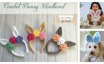 Bunny Ears Headband Free Crochet Pattern