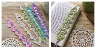 Celebration Bookmark Free Crochet Pattern