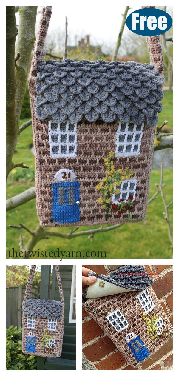 Creative Cottage Bag Free Crochet Pattern