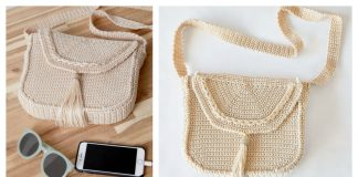 Crossbody Bag Free Crochet Pattern