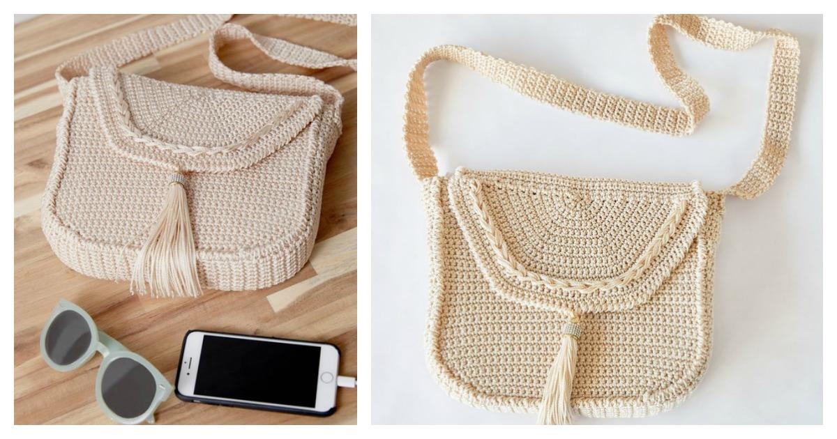 Crossbody Bag Free Crochet Pattern