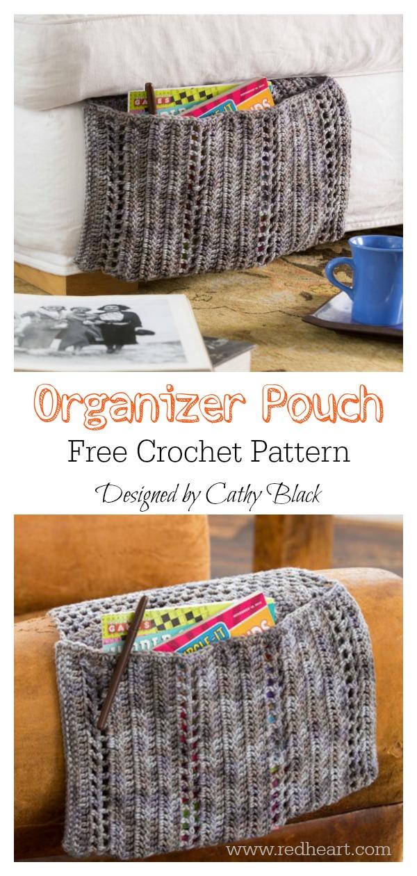 Organizer Pouch Free Crochet Pattern