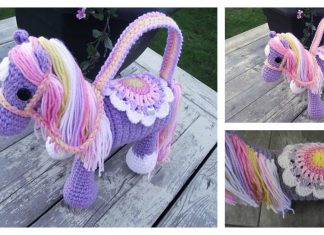 Pony Purse Free Crochet Pattern