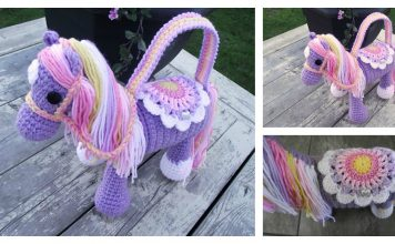 Pony Purse Free Crochet Pattern