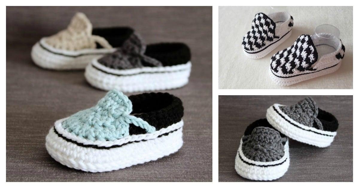 crochet vans pattern free