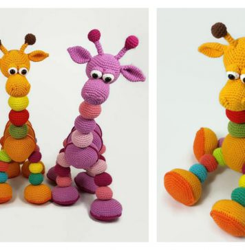 Amalka Giraffe Amigurumi Free Crochet Pattern