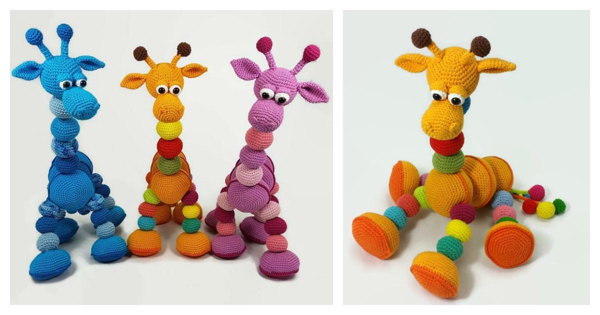 Amigurumi Giraffe Best Crochet Patterns | 630x1200