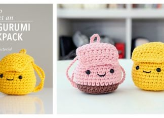 Amigurumi Backpack Free Crochet Pattern