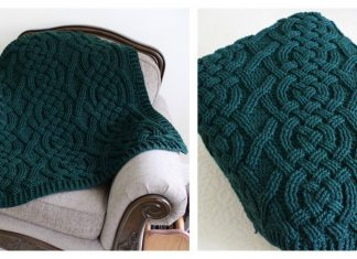 Cloverhill Cable Blanket Crochet Pattern