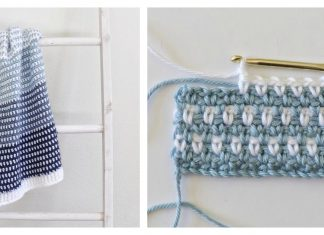 Country Blues Baby Blanket Free Crochet Pattern