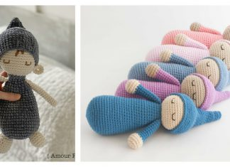 Free Sleepy Doll Amigurumi Crochet Pattern