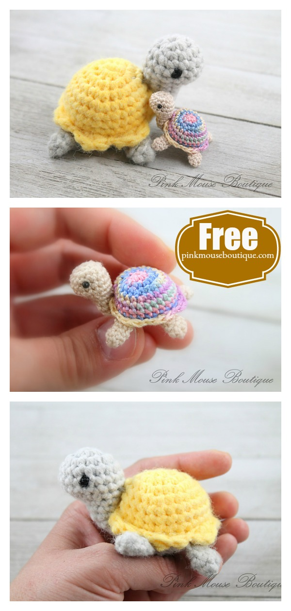 Little Miss Turtle Free Crochet Pattern
