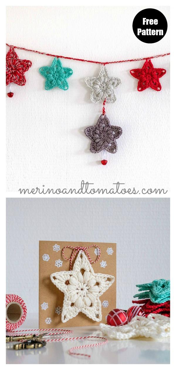 Little Star Free Crochet Pattern
