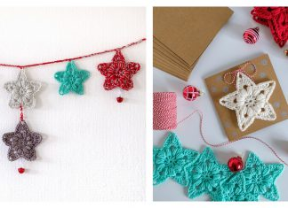 Lucky Star Free Crochet Pattern