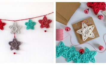 Lucky Star Free Crochet Pattern