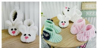Velvet Baby Boots Free Crochet Pattern and Video Tutorial