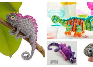 Amigurumi Chameleon Free Crochet Pattern and Paid
