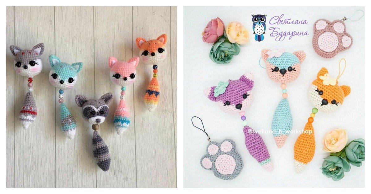 Amigurumi Crochet Fox Pattern -