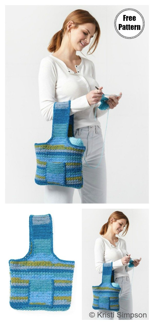 Carry Yarn Bag Free Crochet Pattern