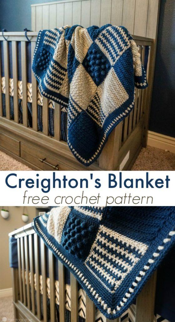 Creighton's Blanket Free Crochet Pattern