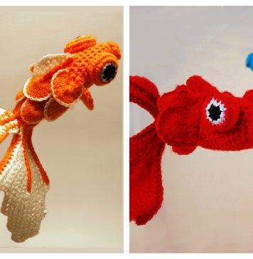 Goldfish Amigurumi Free Crochet Pattern