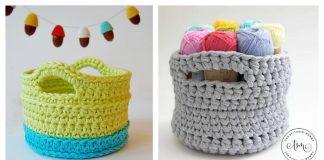 Little Basket Free Crochet Pattern