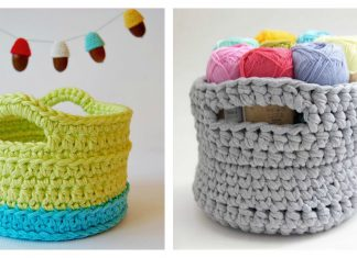 Little Basket Free Crochet Pattern