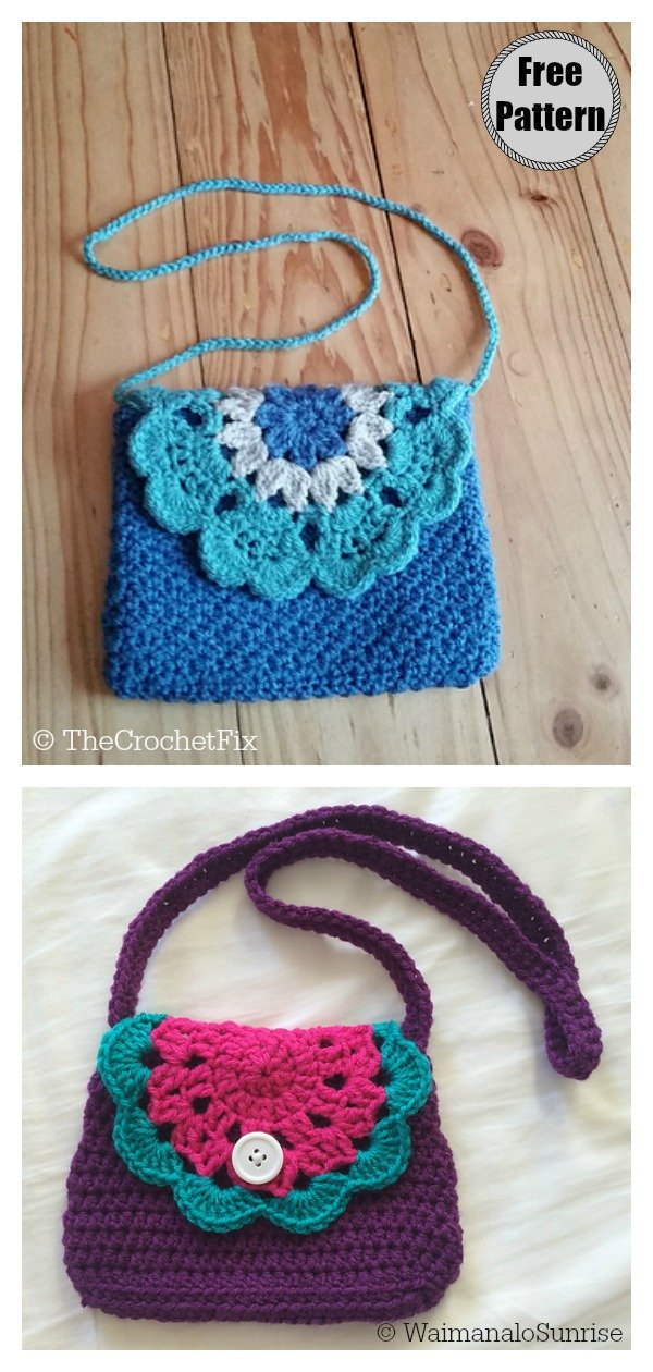 Little Doily Purse Bag Free Crochet Pattern