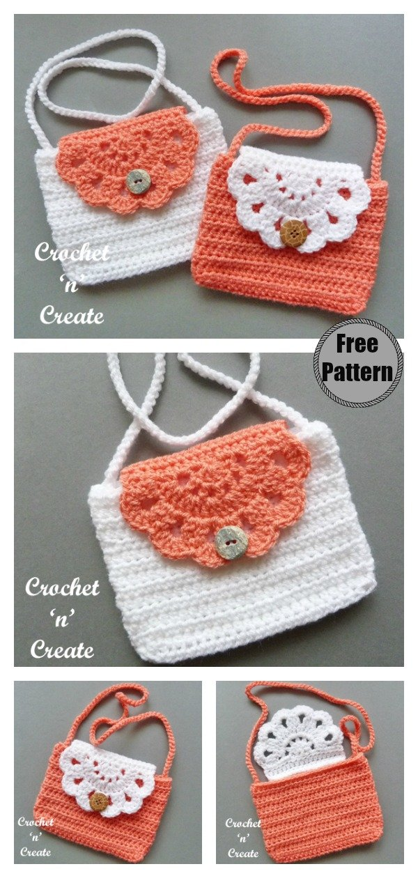 Mini Purse Free Crochet Pattern
