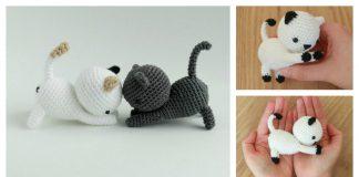 Playing Cat Amigurumi Free Crochet Pattern