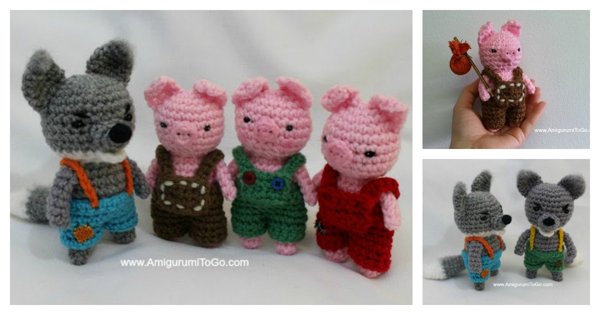 Image result for baby wolf amigurumi crochet pattern free ... | 630x1200