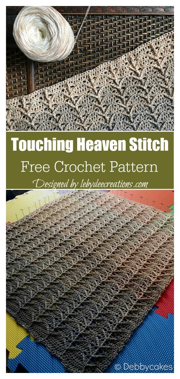 Touching Heaven Stitch Free Crochet Pattern