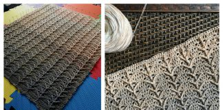 Touching Heaven Stitch Free Crochet Pattern