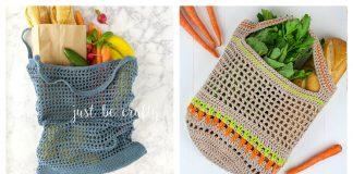 Vegetable Market Bag Free Crochet Pattern