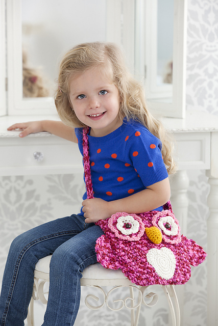 Wise Owl Tote Bag Free Crochet Pattern