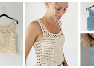 Aestas Summer Top Free Crochet Pattern