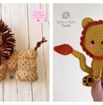 Amigurumi Lion Ragdoll Free Crochet Pattern