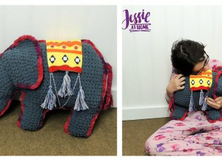 Amir The Elephant Softie Free Crochet Pattern