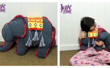 Amir The Elephant Softie Free Crochet Pattern