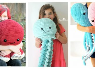Giant Octopus Crochet Pattern Free and Paid