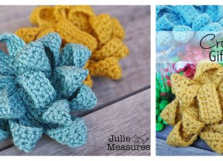 Gift Bow Free Crochet Pattern