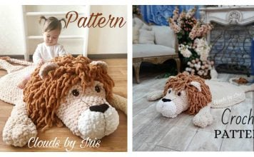Lion Mat Crochet Pattern